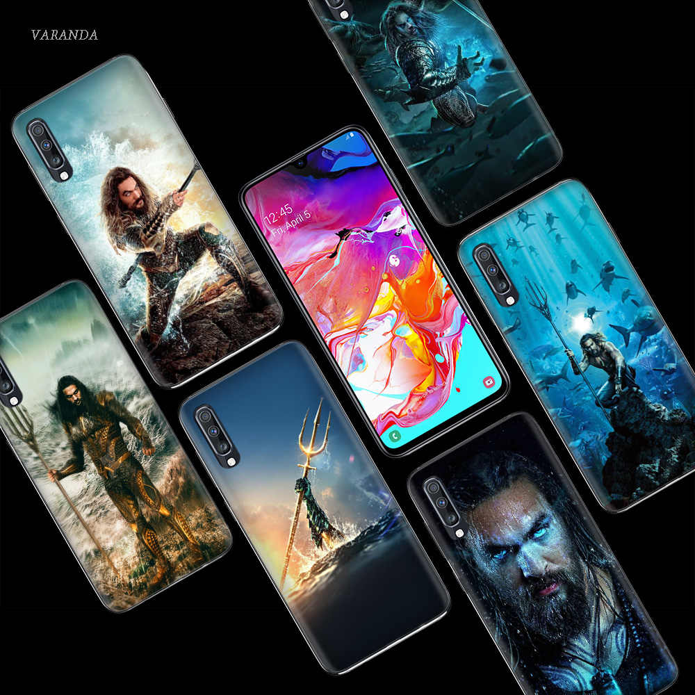 Aquaman Jason Momoa Case for Samsung Galaxy A50 A70 A80 A60 A40 A30 A20 A10 M40 M30 M20 M10 A6 A8 Plus 2018 TPU Phone Bags Cover