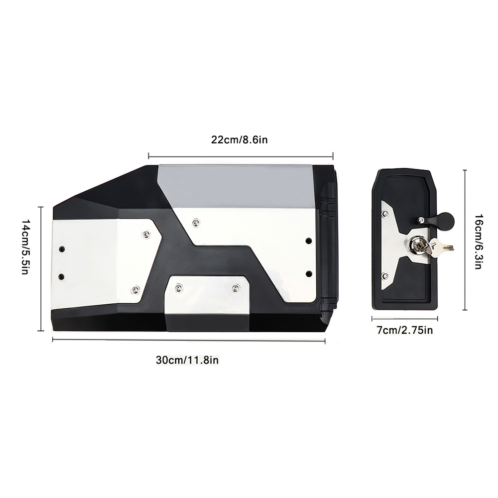 Image 2 - New Arrival! Tool Box For BMW r1250gs r1200gs lc & adv Adventure 2002 2008 2018 for BMW r 1200 gs Left Side Bracket Aluminum box-in Covers & Ornamental Mouldings from Automobiles & Motorcycles