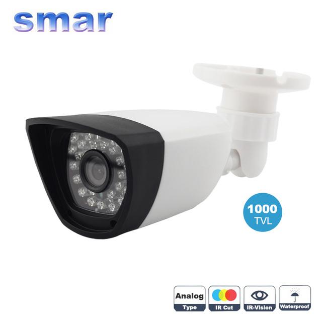Smar casa de segurança câmera de vigilância 1000tvl 36 leds infravermelho ir com lente de 3.6mm de largura embutido filtro de corte ir