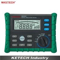 MS5203 Portable Digital Megger Digital Insulation Resistance Tester Meter 50V/100V/250V/500V/1000V