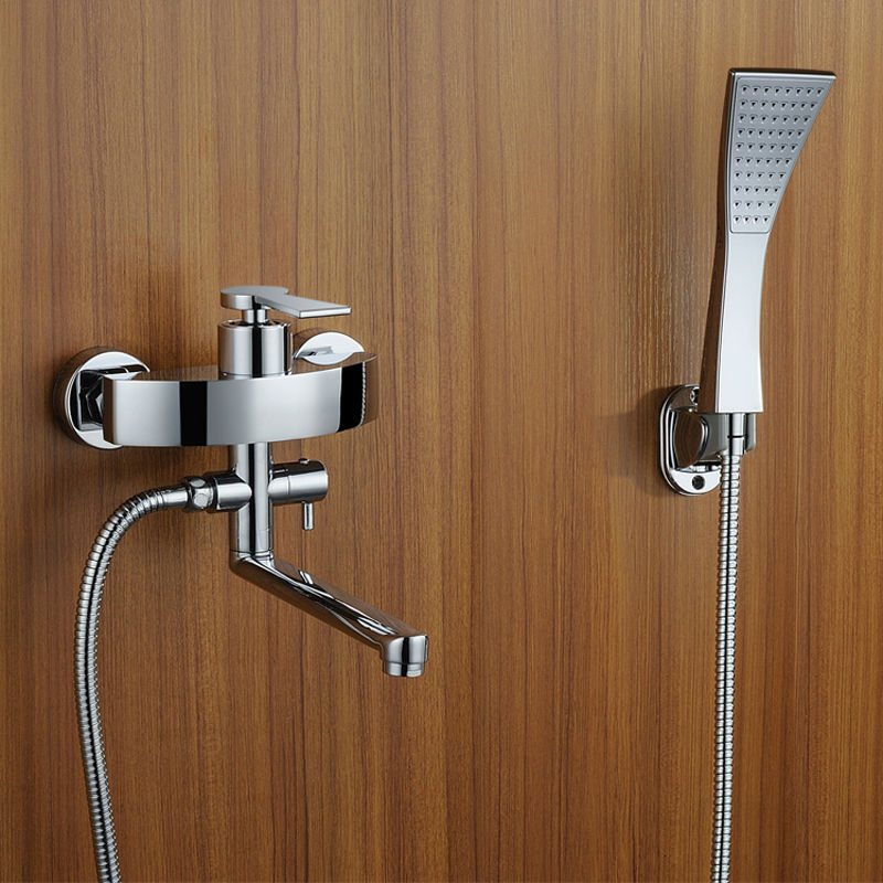 Bathroom Rain Shower Bathroom Tub Faucet Shower Faucets Shower Mixer Tap Thermostatic Shower Mixer traditional faucet chrome thermostatic bathroom faucets plastic handshower dual holes shower mixer tap