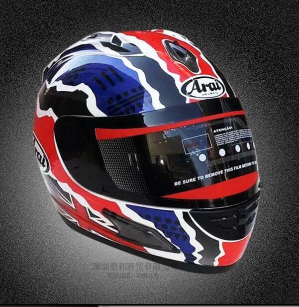 Free shipping for Full Face Helmet Classic Motorcycle  Helmets motociclistas capacete Kart Racing Helmet ECE DGRT