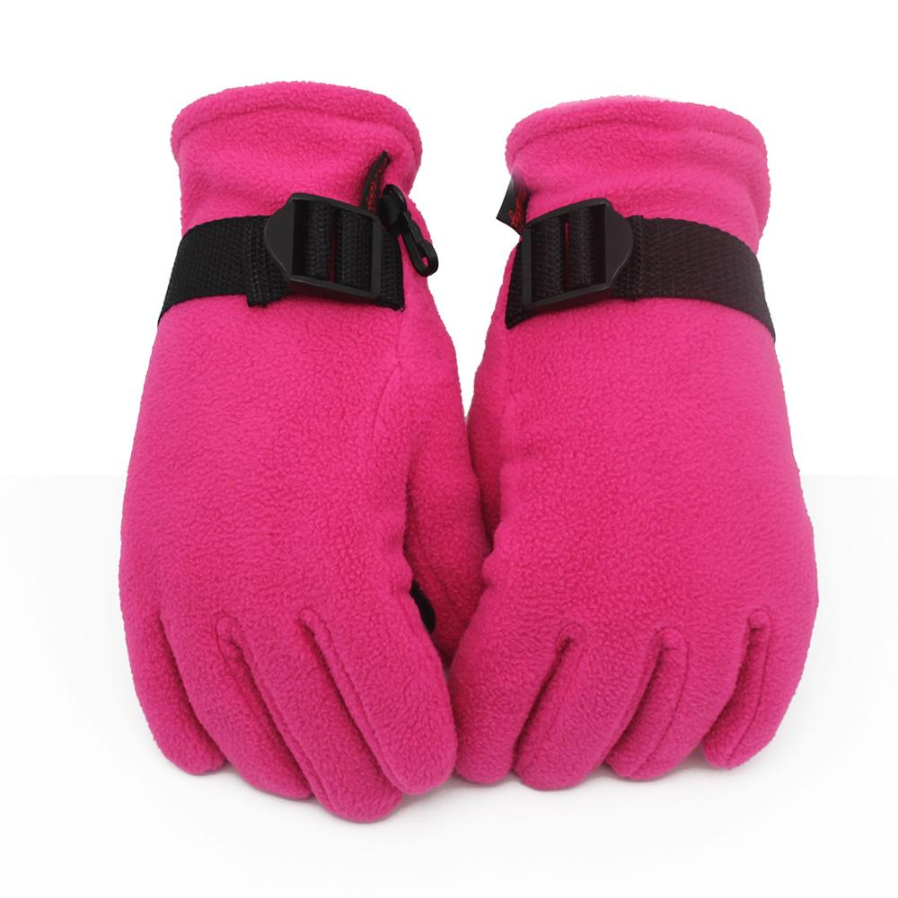 Winter Skiing Cold-proof Gloves Polar Fleece Thickening Motor Vehicle Gloves For Men And Women