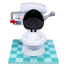 New Creative Super Fun Game Toys Toilet Toy Mini Toys For Parents Kids Friends Play Together