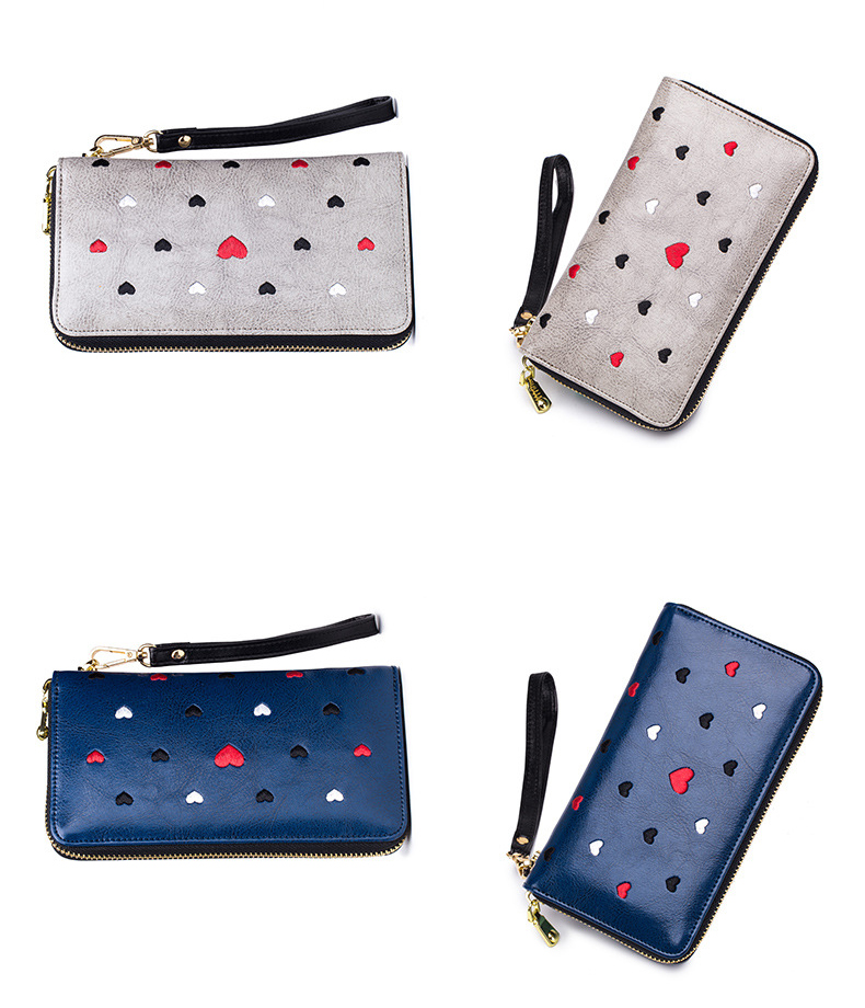 Women genuine leather wallet 19