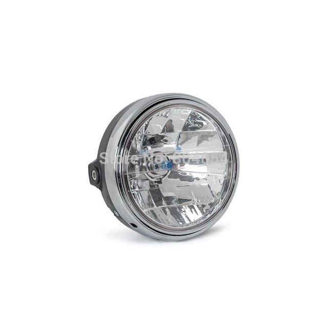 Motorcycle Round Chrome Halogen Headlight Lamp For Honda CB400 CB500 CB1300 VTR250 CB250 VTEC400 MOTO Refit Headlight Lamp
