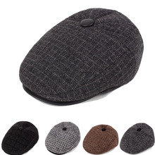 25813051ed37c orifine male Thickening fall winter warm earmuffs cap advance old middle-aged  men s