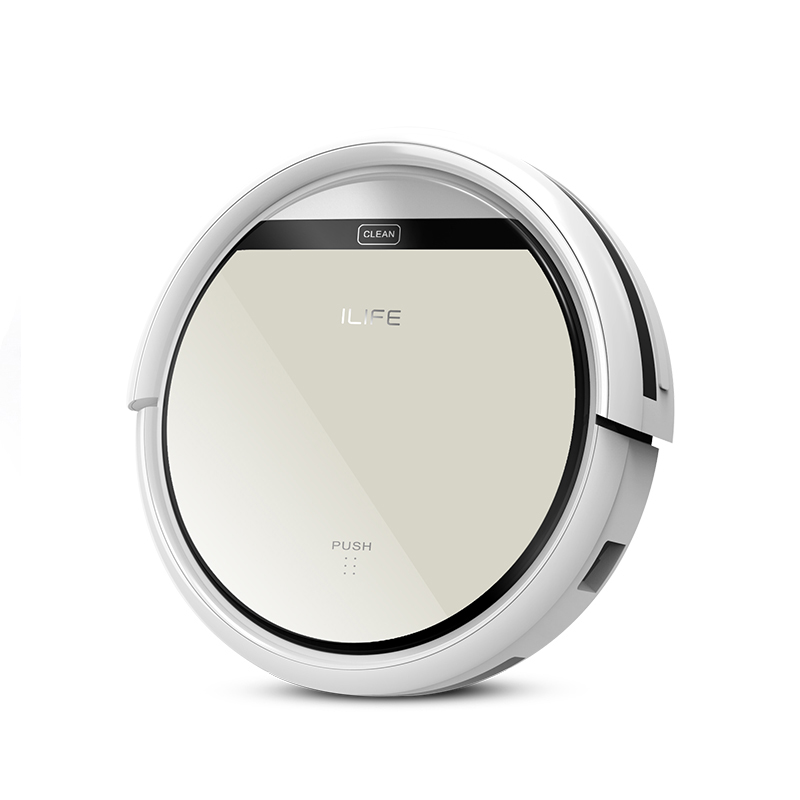 ILIFE V50 Robot Vacuum Cleaner Home Household Professional Sweeping Machine for Pet Hair Anti Collision Automatic Recharging