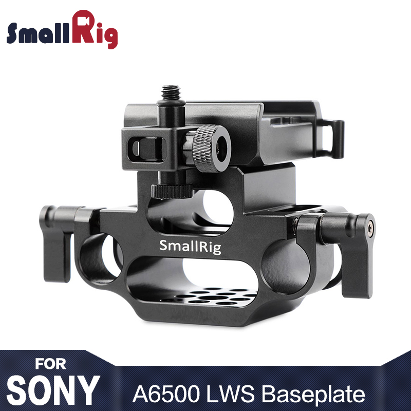 SmallRig Camera 15mm LWS Baseplate for Sony A6500 SmallRig Cage 1889 With 15mm Rod Raiser 1934SmallRig Camera 15mm LWS Baseplate for Sony A6500 SmallRig Cage 1889 With 15mm Rod Raiser 1934