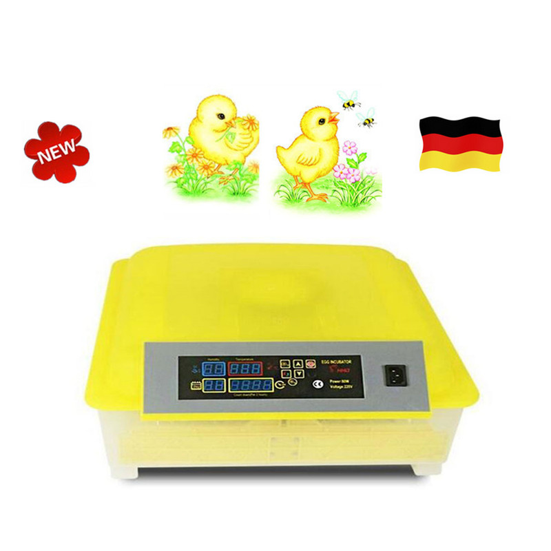 Incubator Full-automatic Egg Hatcher Machine for Chicken Duck Pigeons Quail Parrot Turtle Bird Incubation chicken egg incubator hatcher 48 automatic mini parrot egg incubators hatcher hatching machines