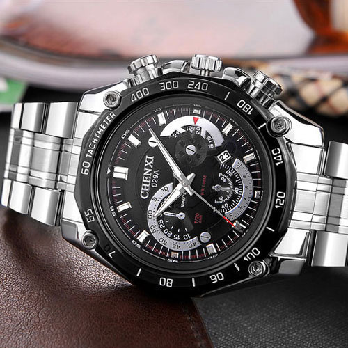 2017 Quartz Watch Men Top Brand Luxury Famous Stainless Steel Wrist Watch Male Clock Watches for Men Hodinky Relogio Masculino luxury watch men wwoor top brand stainless steel analog quartz watch casual famous brand mens watches clock relogio masculino