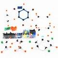 Brinquedos Modelo de Química Orgânica Estrutura Modelo Molecular atômica 9mm DLS-9268 kits para crianças dos miúdos
