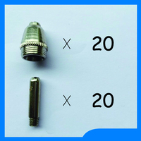 Quality Assurance SG55 AG 60 Cutting Plasma Cutter Torch Spare Parts KIT Rave Reviews TIPS 1