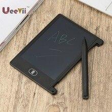 Uevii 4,4 дюймов цифровой графический чертежный планшет доска для рисования для детей почерк безбумажный блокнот lcd электронный блокнот
