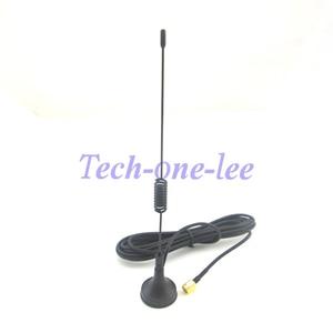 Image 2 - 10 peças/lote gprs gsm antena 900 1800 mhz 3dbi 3m cabo sma masculino magnético base de controle remoto