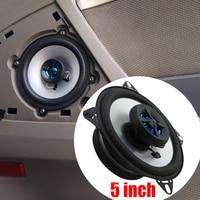 2pcs Lot 5 Inch Car Subwoofer Speaker Auto Audio Kits Perfect Sound Automotive Car HIFI Car