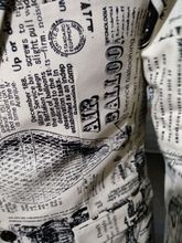 Newspaper Print Slim Fit Blazer