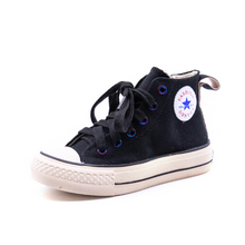 New 2019 Children Casual Shoes Unisex Canvas Shoes Classic High Top Girl Student Lace up Sport Sneaker Boys Autumn Toddler Shoes