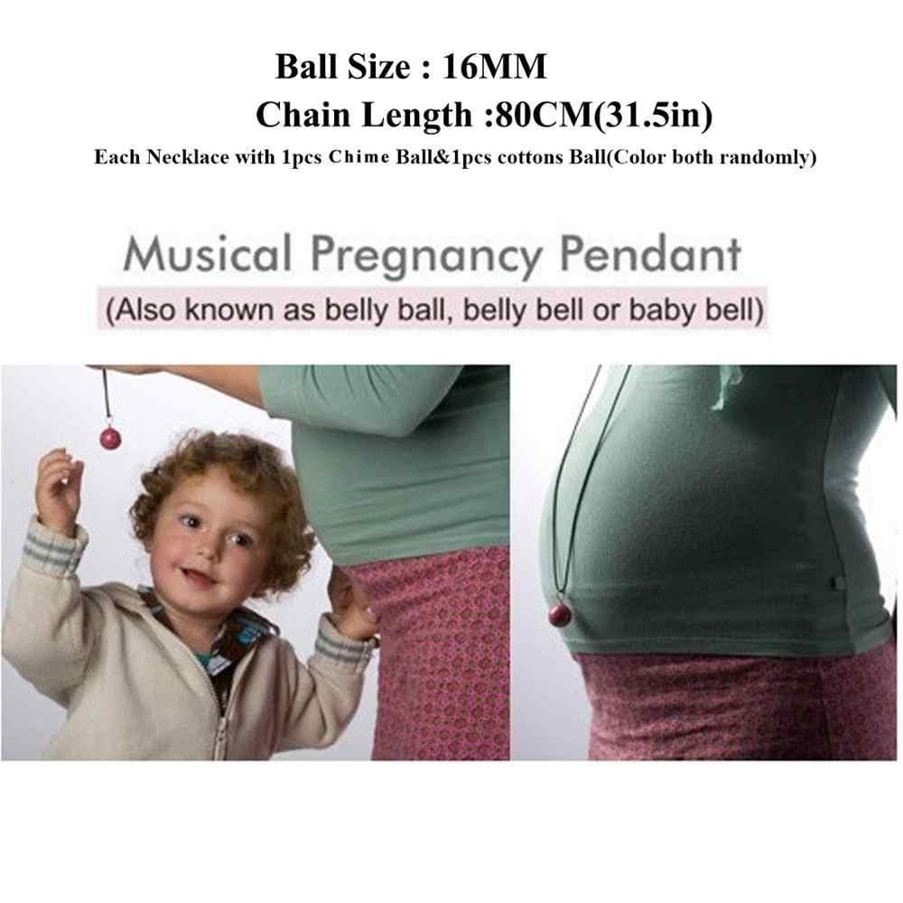 Medallón Musical relajante con forma de bola de Ángel de México Chime, collar de embarazo para aceite esencial de aromaterapia para mujeres embarazadas