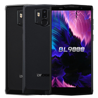 DOOGEE BL9000 Cellphone MTK6763 Octa Core 6GB 64GB Android 8.1 5V5A 9000mAh 12.0MP Wireless Charge NFC Dual Cam 4G Cellphone