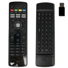 חדש מקורי שלט רחוק עבור Haier LED HDTV טלוויזיה שלט רחוק כפול צד עם USB קלידי HTR U07H HTRU07H USB Fernbedienung