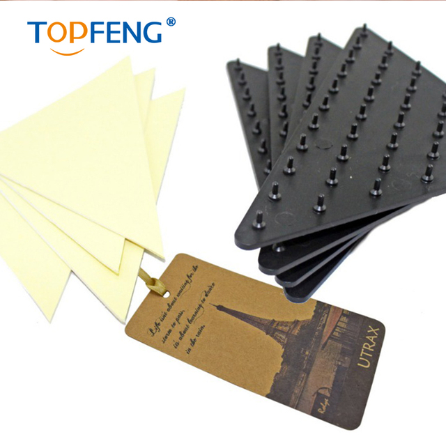 Anti Slip Rug Grippers Spike Underlay Pads Non Stick Carpet Ruggies Set Of 4 Grip