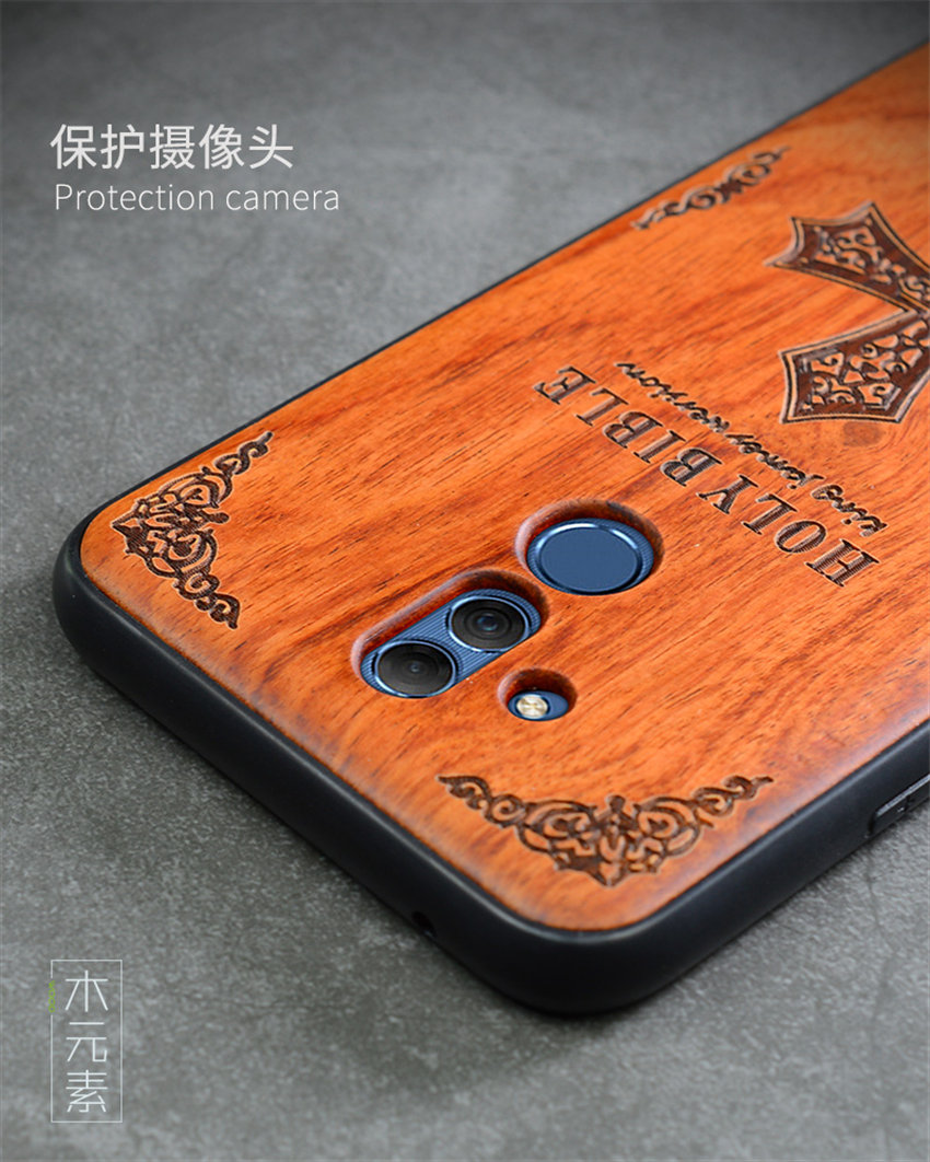 2018 New Huawei Mate 20 Lite Case Slim Wood Back Cover TPU Bumper Case For Huawei Mate 20 Lite Phone Cases Mate20 lite (9)