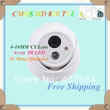 Ночное видение купольные Камера Водонепроницаемый HD 800 ТВЛ ИК видеонаблюдения Камера