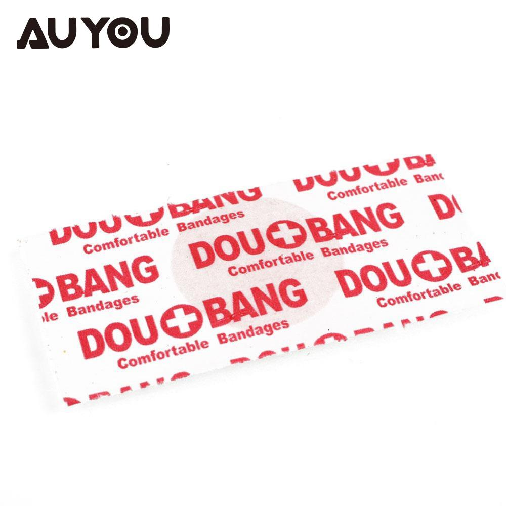 AUYOU 100Pcs Portable Medical Band Aid Adhesive Bandage Operation Line Wound Care For Childrens exit wound