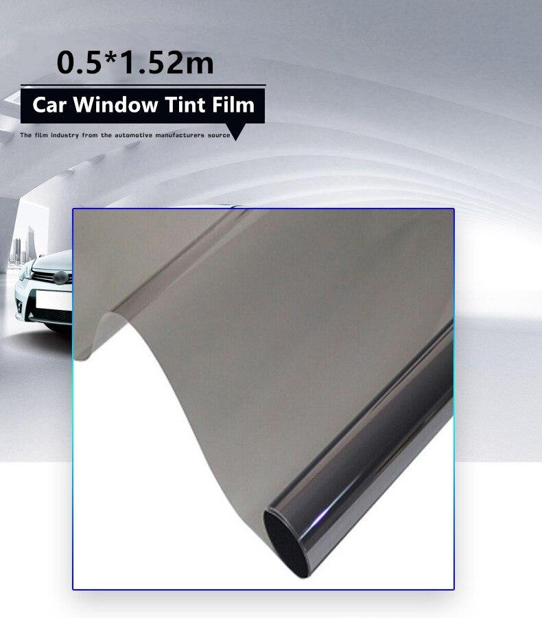 50 152cm car window tint film glass solar protection ultraviolet proof summer uv blocked. Black Bedroom Furniture Sets. Home Design Ideas
