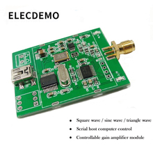 AD9833 Module frequency generator DDS signal square wave sine wave triangle wave serial host computer control цена в Москве и Питере
