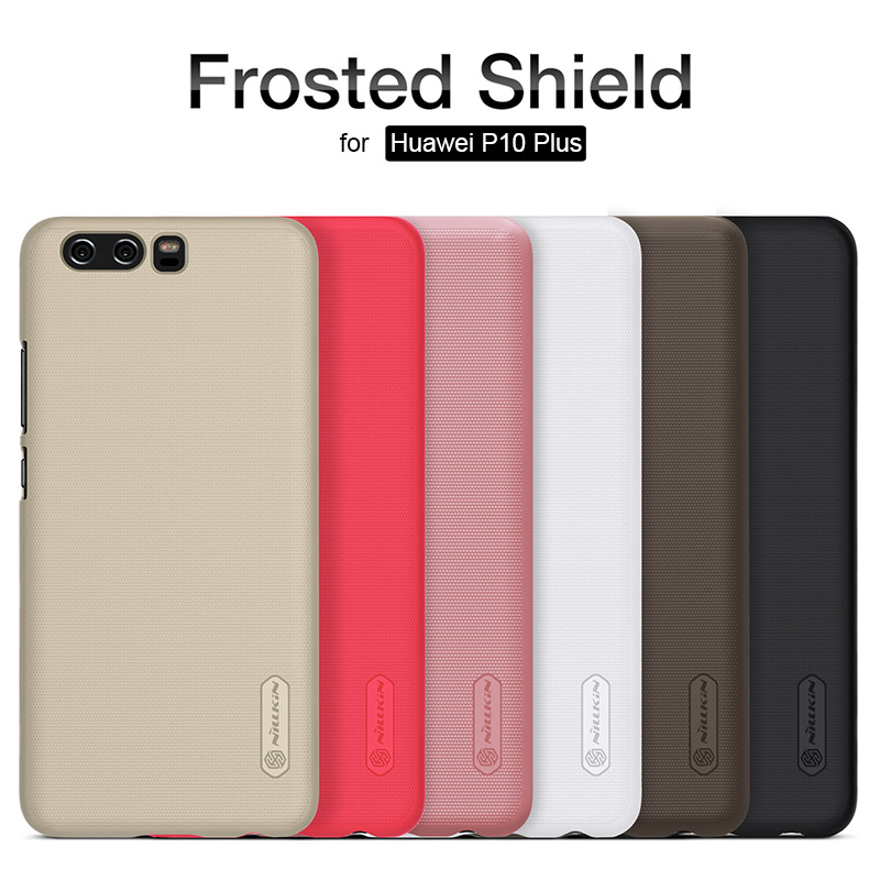"for Huawei P10 Plus 5.5"" Nillkin Super Frosted Shield Ultra-Thin Hard Back PC Cover Case Nilkin for Huawei P10 Plus Phone Case"