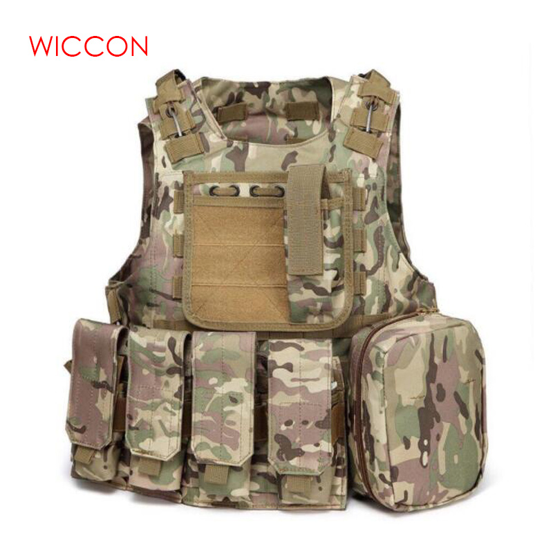 Tactical Vest Military Equipment Men Military Vest Combat Special Security Police Protective Vest Outdoor Equipment