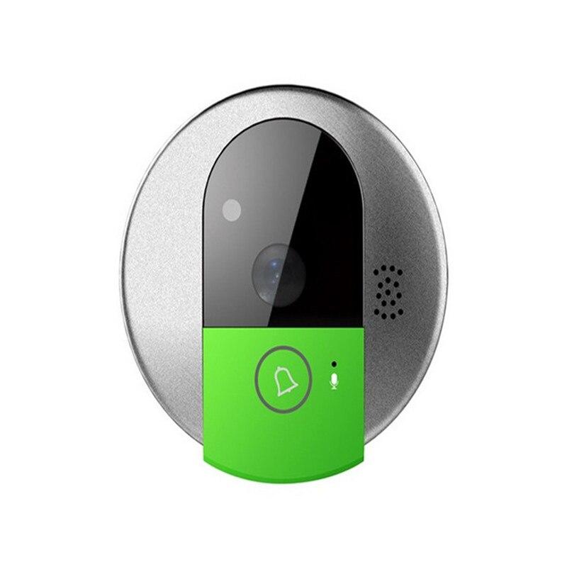 HD 720 P sans fil WiFi IP porte caméra IR Vision nocturne bidirectionnelle Audio vidéo interphone sonnette grand Angle sécurité interphone caméra