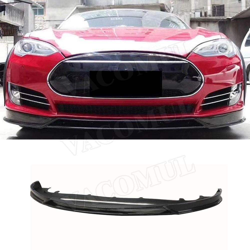 Tesla Wallpapers Group 85: Carbon Fiber Car Front Bumper Lip Protector For Tesla