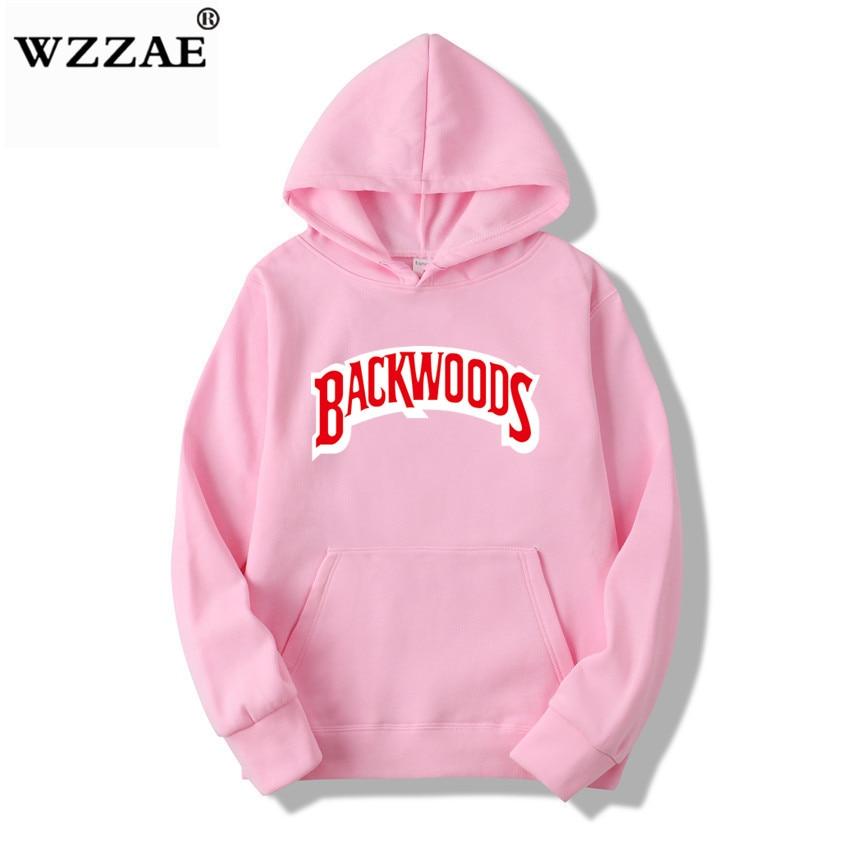 The screw thread cuff Hoodies Streetwear Backwoods Hoodie Sweatshirt Men Fashion autumn winter Hip Hop hoodie pullover Hoody 6