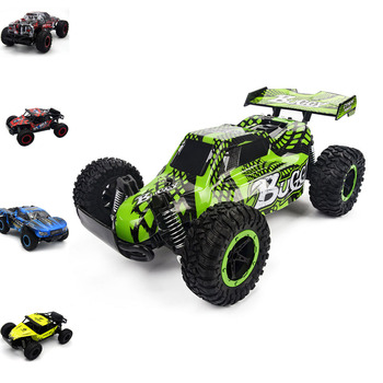 1:16 2WD Radio RC Car 2.4G Super Cross-Country Climbing Vehicle RC Car Buggy High Speed SUV Bigfoot Drift Remote Control Toy Car radio-controlled car
