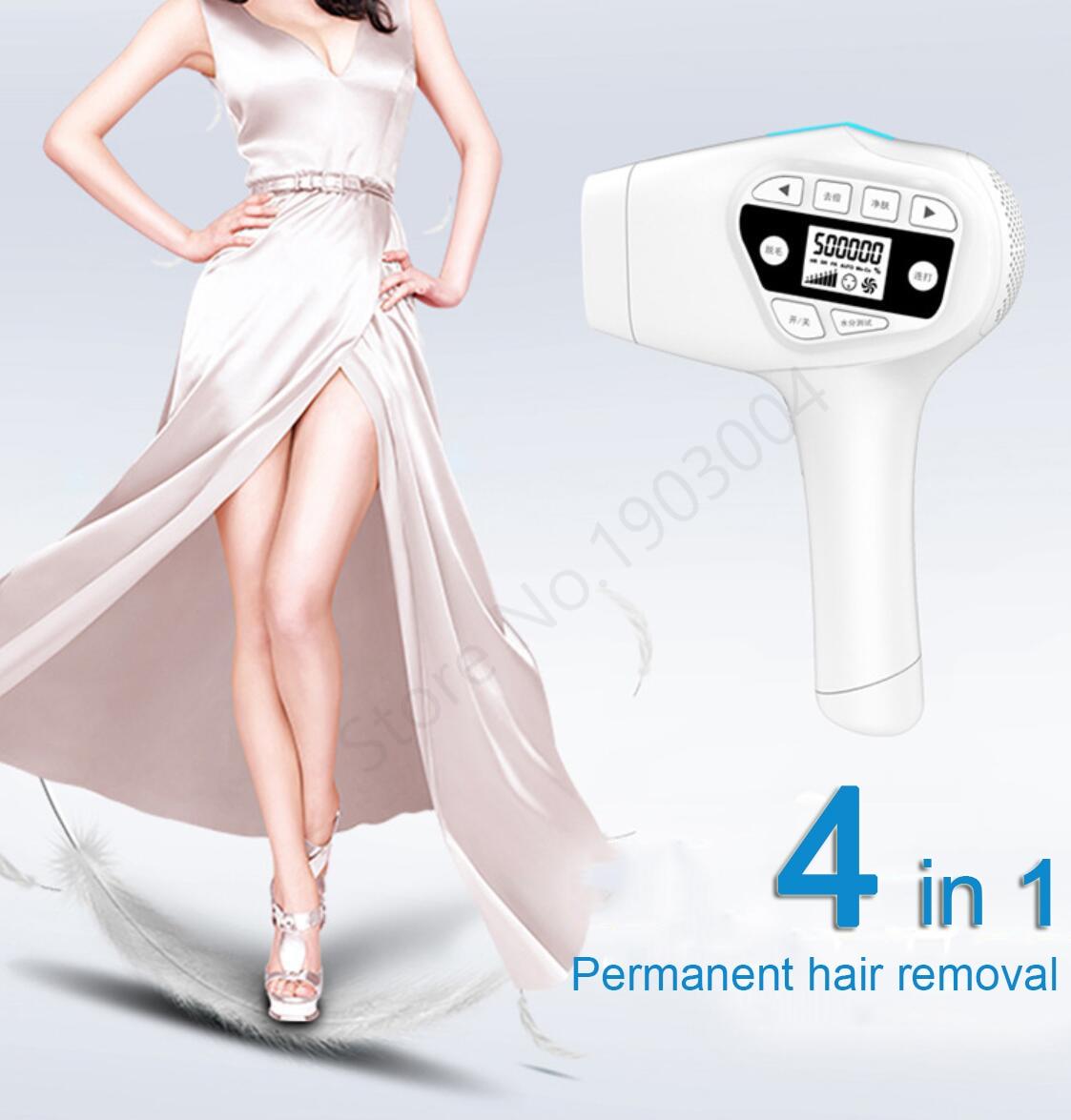 4in1 ipl depilação a laser permanente depilador