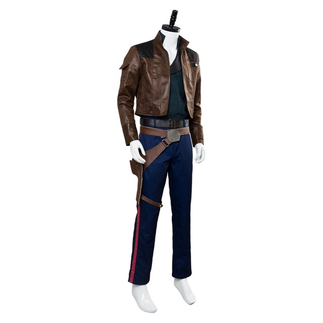 Solo: A Star Wars Story Han Solo Cosplay Costume Custom Made 3