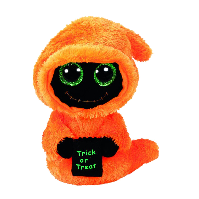 TY Beanie Babies Боос Seeker оранжевый Reaper Хэллоуин Boo плюшевые регулярные чучело Коллекционная мягкие большие глаза игрушки куклы