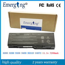 9cells 7200Mah New High Quality Laptop Battery for Dell 6000 9200 D5318 U4873 XPS Gen 2 D5318 D5318 YF976