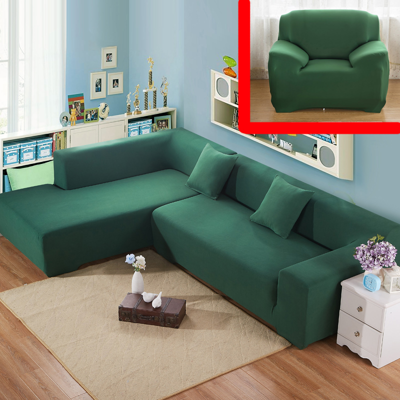 Corner sofa cover for couch cloth furniture case armrest for Cloth furniture coverings