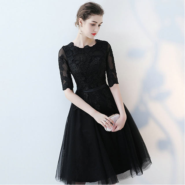Online Shop Glamorous Little Black Formal Dresses 2018 Nw Sexy