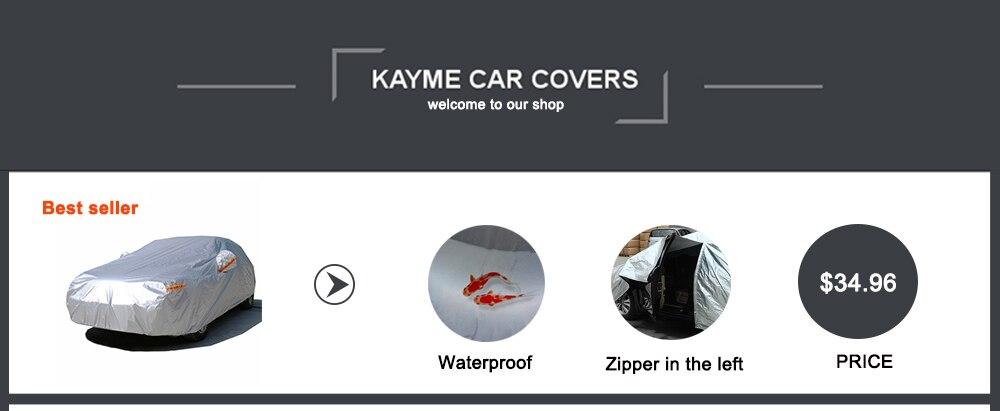 Kayme Водонепроницаемый Камуфляж автотентами открытый защиты