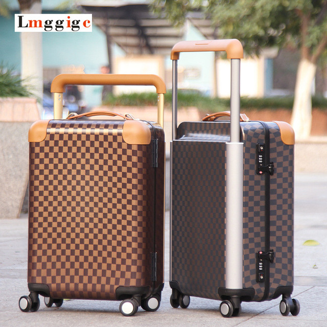 "20""inch Nniversal wheel Cabin Luggage,New PC+ABS Suitcase,high quality Travel Box,women's Carry-Ons,Factory outlets Carrier case"