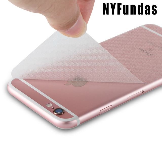 release date ab534 b97f8 US $0.2 |NYFundas Back Carbon Fibre Film Screen Protector for Apple iPhone  6 6S Plus 7 8 5 S 5S SE X 4S XS Max XR 10 Pelicula Accessories-in Phone ...