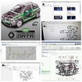 2019 новейшее программное обеспечение для автомобиля Vivid Workshop data 10 20 техническое обслуживание автомобиля Схема обслуживания автомобиля 10 2 да...