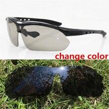 Polarized Cycling Glasses Photochromic MTB Road Bicycle Sunglasses Men/Women Bike Eyewear Male Gafas Ciclismo Goggles UV400