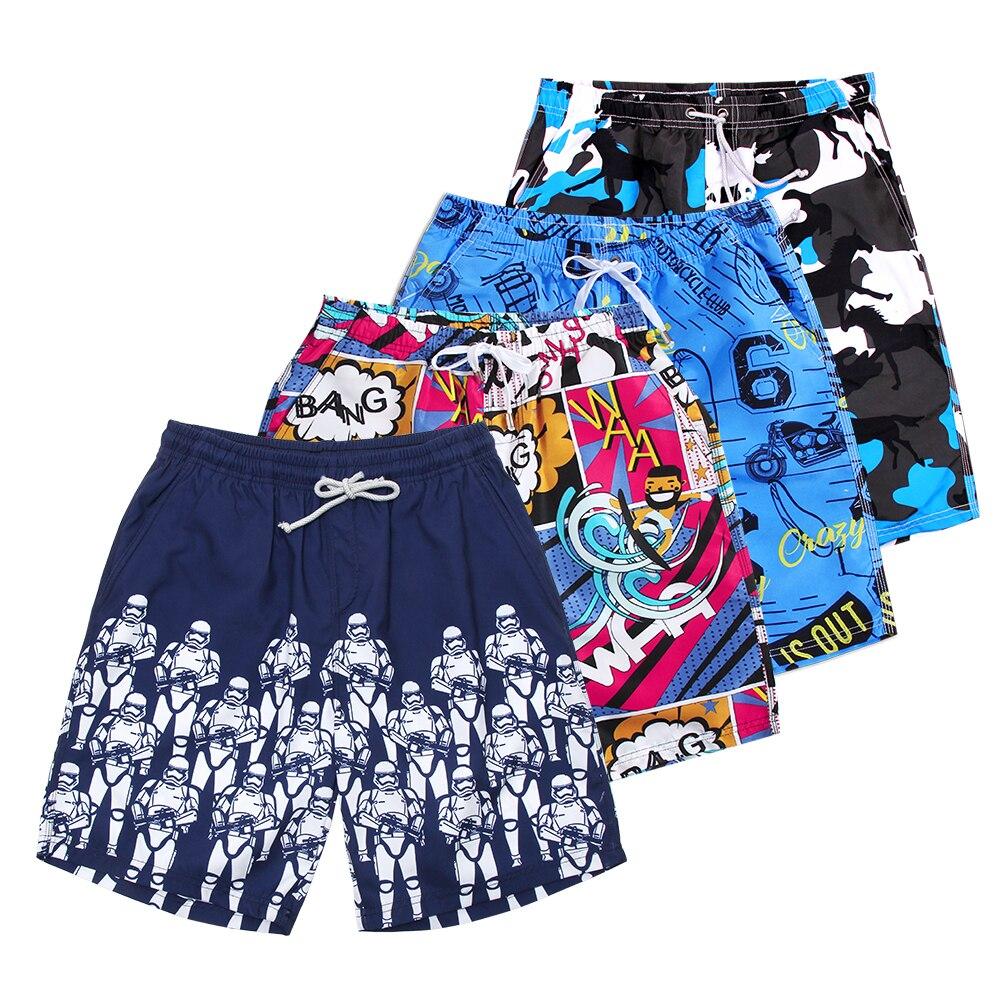 8338fd5bdf YOUYOU Marca Secagem Rápida Bermudas Curtas Dos Homens Calções de Praia  Homem Swimwear Calções De Surf Homens Beachshorts Board Shorts Plus Size L- 4XL