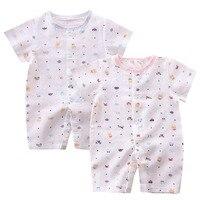 2pcs Lot Hunibear Newborn Jumpsuit Sleepsuits Baby Boy Romper Unisex Infant Clothes Baby Boy Cotton Romper